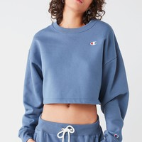 Champion & UO Cropped Crew-Neck Sweatshirt | Urban Outfitters