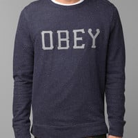 OBEY Slider Fleece Crew Sweatshirt