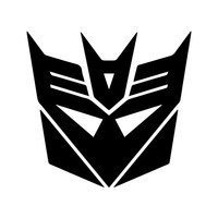 Transformer Decepticon decal sticker for car truck laptop ANY COLOR die cut vinyl