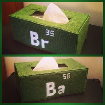 Breaking Bad Tissue Box Cover long box by K8BitHero on Etsy