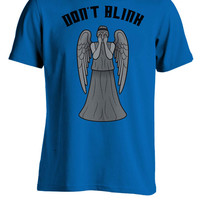 Dr. Who Inspired Weeping Angel Don't Blink T-Shirt