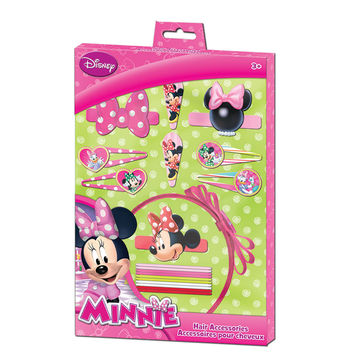 Minnie Mouse Hair Accessories Set [20 Pieces]