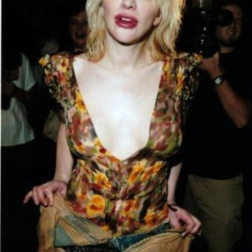 Courtney Love Poster Standup 4inx6in
