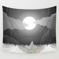 Dream Sea Wall Tapestry by Dood_L