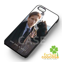 Fox Mulder Keychain xfiles-1nnaa for iPhone 6S case, iPhone 5s case, iPhone 6 case, iPhone 4S, Samsung S6 Edge