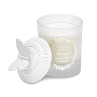 Butterfly Frosted Glass Candle | Laura Ashley