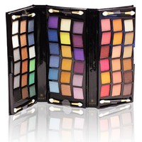SHANY 2011 All In One Makeup Set, Shimmer Blend, Leather Case, Limited,