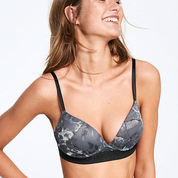 All New Wear Everywhere Wireless Push-Up - PINK - Victoria's Secret