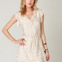 Love and Liberty Cross Over Dress at Free People Clothing Boutique