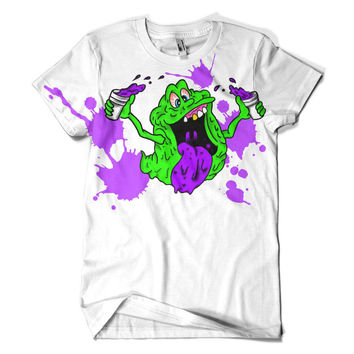 Slimer Lean TEAM Codeine Tee Shirt