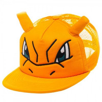 Pokemon - Charizard Big Face Trucker Hat