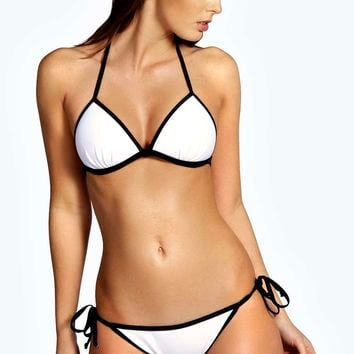 Boracay Triangle Moulded Contrast Edge Bikini