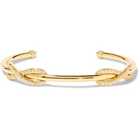 Tiffany & Co - Double Infinity 18-karat gold diamond cuff