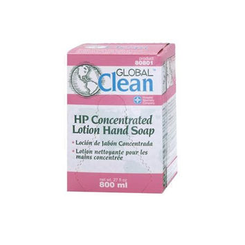 Hospeco Global Clean 80801 Pink High Performance Concentrated Lotion Hand Soap, 800 mL (Case of 12)