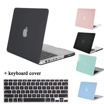 MOSISO Crystal Matt 2 in 1 for Macbook Pro 13 A1278 Plastic Hard Cover Case for Macbook Pro 15 inch A1286 Laptop Shell Protector