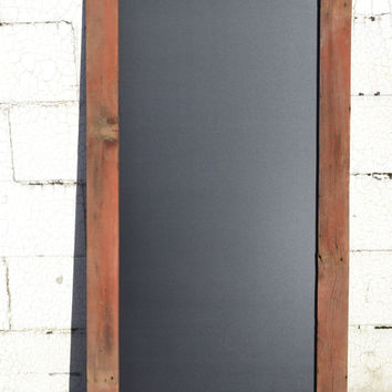 Reclaimed Barn Wood Sign, Chalkboard Sign, Reclaimed Wood Chalkboard, Framed Chalkboard Sign, Chalkboard Wedding Sign, Chalkboard Menu Sign