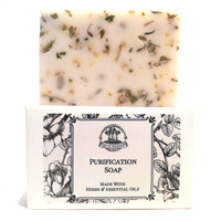 Purification Shea Herbal Soap for Negativity & Unwanted Energy Hoodoo Wiccan Pagan