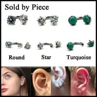 Horseshoe nose & ear ring