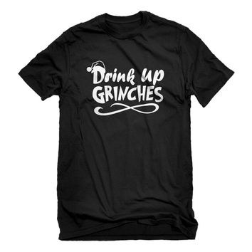 Mens Drink Up Grinches Unisex T-shirt