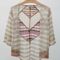 Gimmicks by BKE Pieced Cardigan Sweater