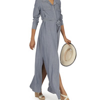 Cameron Chambray Maxi Dress