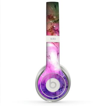 The Warped Neon Color-Splosion Skin for the Beats by Dre Solo 2 Headphones