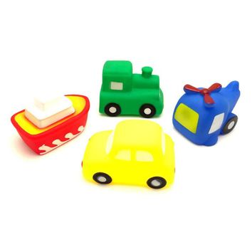 Cool Bath Toy Swimming Pool Baby Toys Kids Water Spray Colorful Car Boat