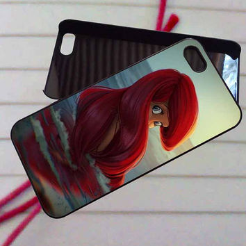 Ariel disney little mermaid - case iPhone 4/4s,5,5s,5c,6,6+samsung s3,4,5,6