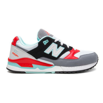 "New Balance - 530 ""90's Running Remix"" (White/Orange/Black)"