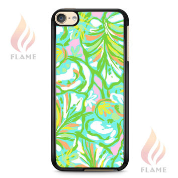 Lilly Pulitzer Elephant Ears Am iPod 6 Case