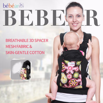 3-24 month Ergonomic baby carrier 360 Breathable 3D mesh fabric kid sling Multifunction fashion load 20KG three posture backpack