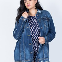 Plus Size The Staple Denim Jacket