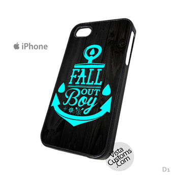Fall Out Boy Anchor M Phone Case For Apple,  iphone 4, 4S, 5, 5S, 5C, 6, 6 +, iPod, 4 / 5, iPad 3 / 4 / 5, Samsung, Galaxy, S3, S4, S5, S6, Note, HTC, HTC One, HTC One X, BlackBerry, Z10