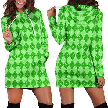 St Patricks Day Womens Hoodie Dress Style 2