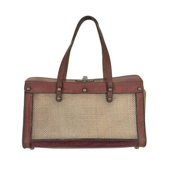 Unique Handbag Tweed Handbag Leather Handbag Pocketbook Ladies Handbag Hand Bag Women Hand Bag Leather Purse Leather Casual Purse
