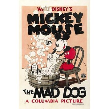 Mickey Mouse Mad Dog Movie Poster