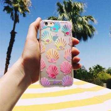 Transparent Colorful Rubber Soft TPU Silicone Phone Case Cover for iPhone 5 6/6S Plus
