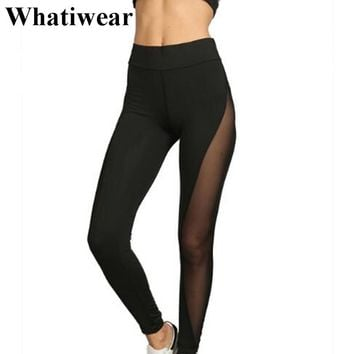 2017 Summer Mesh Breathe Women Translucent Legging fitness deer leggings mermaid leggins mujer pantalon gothic velvet P0456