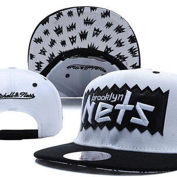Brooklyn Nets Bat 9fifty Snapback Cap M&n