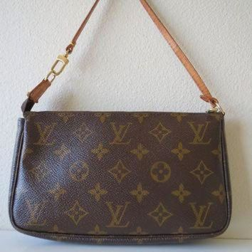 VLX9RV Louis Vuitton Monogram Accessories Bag Pouch Handbag