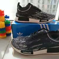 """""""Adidas"""" Fashion Casual Multicolor Fly Weave Sneakers Men Running Shoes"""