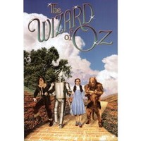 Wizard of Oz Movie (Group Walking on Yellow Brick Road) Poster Print