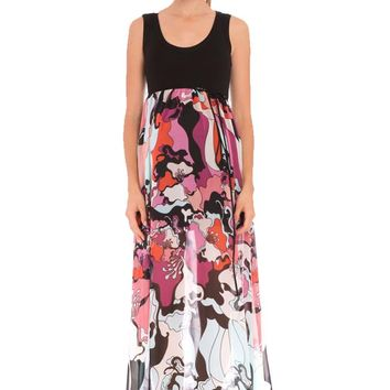 Olian Tamara Maternity Maxi Dress