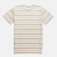 Everyday Stripe T-Shirt in Seaweed