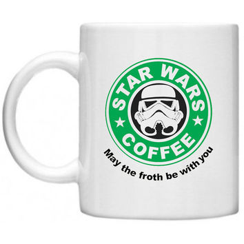 Star Wars Starbucks Style Ceramics Mug - Made To Order