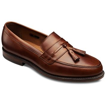 Hyde Street - Tasseled Slip-on Loafer Men's Dress Shoes by Allen Edmonds