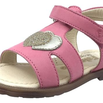 Naturino Falcotto Girl's Puppet Open Toe Sandals, Corallo
