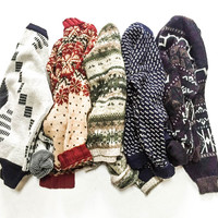 Mystery Oversized Vintage Sweater | Perfect Holiday Gift | Small - XXL