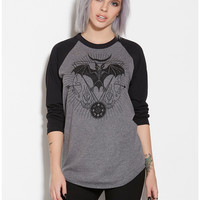 Bat Skeleton Raglan