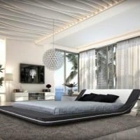 Marquee Platform Bed by VIG Furniture - Opulentitems.com
